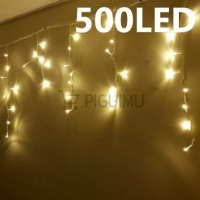 500 LED girlianda Varvekliai