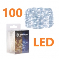Girliandos su baterija 100LED